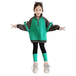 celebrity suit new Australia - Girls autumn suit 2019 new fashion online celebrity Korean version of sports leisure autumn and winter two sets