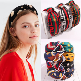bee hair Australia - 13style Girls hair accessories Little bee letter headband kid hair band Baby girl headdress hoop Hair Sticks Knot head hoop Wholesale BJY901