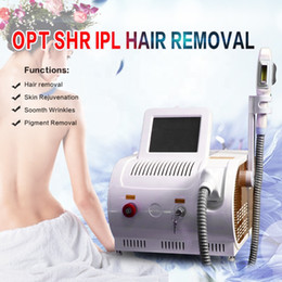 Ipl Spot Australia - Portable SHR IPL machine permanent Hair removal machine skin rejuvenation pigment age spots removal acne treatment spa salon machine