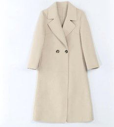 $enCountryForm.capitalKeyWord Australia - 2019 new explosion models hot temperament double-faced wool woolen coat in the long section of alpaca hair popular woolen coat white
