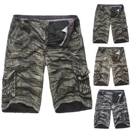 mens beach trousers NZ - Mens Style Casual Shorts Men's Summer Beach Shorts Mens Trousers Multi-pocket Camouflage Casual Short Pants Z417