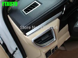 $enCountryForm.capitalKeyWord Australia - Auto interior accessories, car inner air vent trim styling for corolla 2014-2017,ABS chrome,free shipping