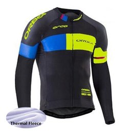 China New ORBEA cycling jersey winter thermal fleece long sleeves shirt outdoor Sportswear bike maillot ropa ciclismo men cycling clothing Y051335 cheap orbea bike cycling long suppliers