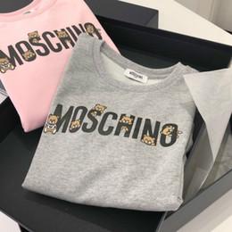 Kids Hoodies Brand Letter Print Long Sleeve Hoodie Sweatshirts Boy Girls Solid Color Hoodie Children Casual Hoodie on Sale