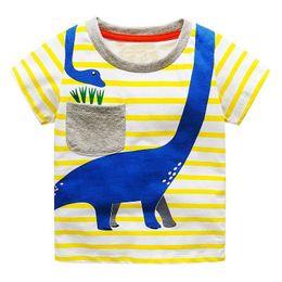 9d330a9cb3b6 Children T shirts for Boys Clothes 2019 Brand Baby Boys Summer Tops Tee  Shirts Fille Animal Print Kids T-shirts Boy Clothing