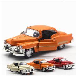 $enCountryForm.capitalKeyWord NZ - 1:36 alloy pull back car models,high simulation Cadillac retro vintage car,metal diecasts toy vehicle,kid's gift,free shipping