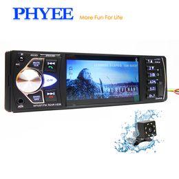 Head unit car online shopping - 1 Din Car Radio Bluetooth quot Autoradio MP5 Stereo Video Multimedia Player MP3 USB TF Aux Camera In dash Head Unit PHYEE D