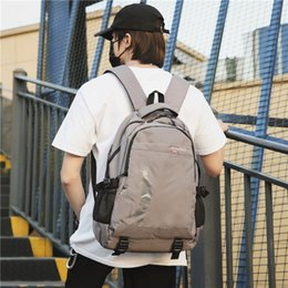 oxford style man bag Australia - Charismatic2019 Shoulders Both Man Backpack Will Capacity Oxford Cloth Package Trend Concise Motion Waterproof Travelling Bag