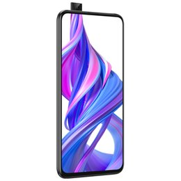 "mms player NZ - Original Huawei Honor 9X 4G LTE Cell Phone 6GB RAM 64GB 128GB ROM Kirin 810 Octa Core Android 6.59"" 48MP Fingerprint ID Smart Mobile Phone"