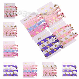 Elastic Belt Ring Australia - Fashion Unicorn Knotting hair ring Calico Elastic belt Hot-selling hair band elastic band Decorative hair ring T9C00107