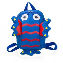 Lost Backpacks Australia - Baby small backpack 1-3 years old baby boy young child cute cute girl anti-lost with children kindergarten bag cartoon