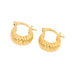 Real Gifts UK - 24k Real Gold Plated Men Jewelry Earring Women Jewelry Gift