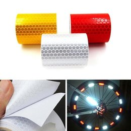 reflective stickers bike Australia - 5X300CM Night Safety Bicycle Bike Wheel Spokes Reflective Sticker Tube Warning DIY Cycling Reflector Reflective