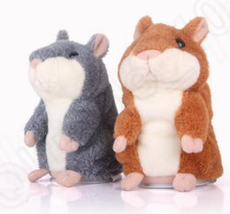 Toy hamsTer peTs online shopping - Talking Hamster Plush Toy Cute Speak Sound Record Hamster cm hamster pet talking record Mouse Plush Kids Toy
