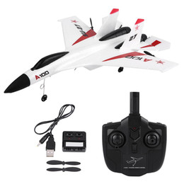 Nice coNtrols online shopping - WLtoys XK A100 SU27 Channels EPP Fixed wing Plane Airplane Remote Control Glider for children nice gifts RC Airplane