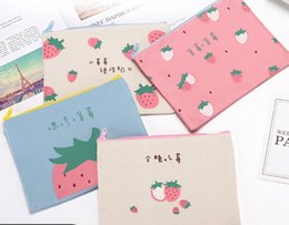 Train Cosmetic Bags NZ - Stationery bag pencil bag training class advertising pen bag paper file custom student pencil case Cosmetic Bags & Cases