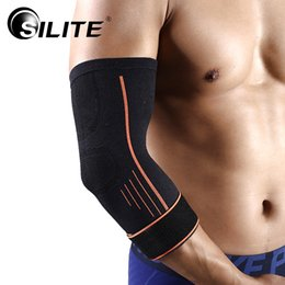 Elbow Braces Australia - Elbow Protector Cotton Adult Basketball Tape Elbow Support Skateboard Brace Pads Sport Safety Sleeve Unisex Fitness 1pcs