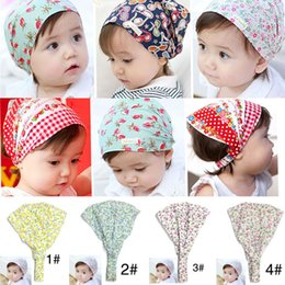 $enCountryForm.capitalKeyWord NZ - Summer Autumn Baby Headscarf Cute Printed Girl Baby Hat Caps Toddler Baby Photography Props Accessories Kids Children's
