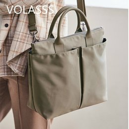 simple handbags Australia - 2020 Women Handbags Large Capacity Simple Messenger Bags Female New Solid Hand Bag Totes Sac A Main Bolsos Mujer Bolsa Feminina