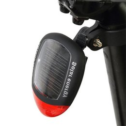 $enCountryForm.capitalKeyWord Australia - Environmentally Friendly Energy saving Solar Powered LED Rear Flashing Tail Light for Bicycle Cycling Lamp Safety #2M16 #760108