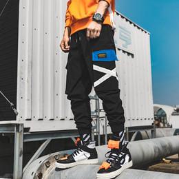 Mens hareM overalls online shopping - Cross Joggers Pants Men Mens Hip Hop Cargo Pants Male Pockets Track Pants XL Overalls Clothing