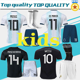 $enCountryForm.capitalKeyWord Australia - 2019 Argentina kids Soccer Jerseys Argentina Home soccer Shirt 2020#10 MESSI #9 AGUERO #21DYBALA #11 DI MARIA away football uniform