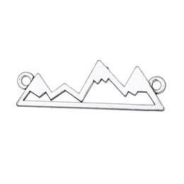 London pendants online shopping - EUEAVAN Mountain San Francisco Paris New York London Plated Skyline Charm Pendant For Jewelry Making Handmade Gift DIY
