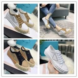 spring summer fall Canada - 2020 spring fall summer womens white canvas Fabric lace up Trainers Casual Shoes flat platform Rubber low top sneakers k057