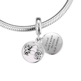 $enCountryForm.capitalKeyWord Australia - Winter New 925 Sterling Silver Perfect Christmas Hanging Charm Reindeer Fit Brand Bracelet Charm For Women Making Jewelry Gift