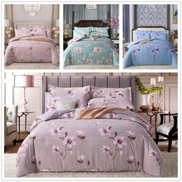 $enCountryForm.capitalKeyWord Australia - Simple Elegant Style Bedding Set Twin Full Queen Size with Colourful Flowers Bedspreads 2 3pcs for Girls Adult of Bedding Suit