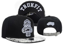trukfit caps black 2019 - Black Snakeskin Trukfit Snapback Caps & Hats Adjustable Strapback Hat TRUKFIT Snapback Black Cotton Men Caps TYMY