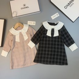 Import gIrls dresses online shopping - Kids dressing gowns dress High end ladies and nobles style imported special fabric polyester fiber inner cotton skin