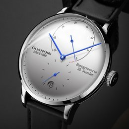 6648d46e3f6b Guanqin reloj de negocios mecánico hombres de primeras marcas de lujo  luminoso acero inoxidable 316l muñeca para hombre relojes automáticos reloj  de oro ...