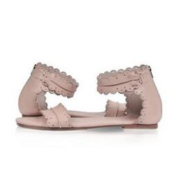 Women Retro Flats Leather Bohemia Sandals Summer Female Open Toe Beach  Shoes Lady Zip Casual Flip Flop Sandalias Size 35-41 36de29a690fe