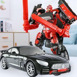 Toy Boy Movie Australia - Transforming Toy King Kong 5 Model Car Robot Hornet Wire Rope Dinosaur Movie Edition Hand Child Boy