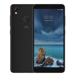 zte blade Australia - Original ZTE Blade A4 4G LTE Cell Phone 4GB RAM 64GB ROM Snapdragon 435 Octa Core Android 5.45 inch 13MP Fingerprint ID Smart Mobile Phone
