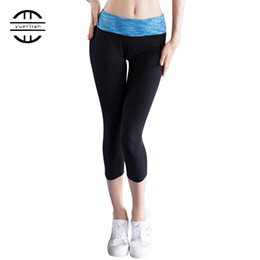 tight blue yoga pants NZ - Yuerlian Cheap Yoga Sexy Girls Leggings Compression Dress Pants Sports Tights Pantalones Mujer Fitness Polyester Hot Women