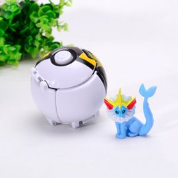 Finishing touch online shopping - Pikachu Reversible Touch Elf Ball Toy Multiple Styles Lovely Monster With Doll Creative Game Anti Wear New Arrival fk I1