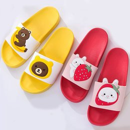 $enCountryForm.capitalKeyWord UK - Cartoon Bear Rabbit Slides Women Summer Slippers Fruits Strawberry Banana Panda Home Slippers Sandals Women Shoes Flip Flops