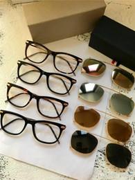 Dual sunglasses online shopping - new fashion designer sunglasses square frame optical glasses sunglasses dual series popular simple style top quality UV lens