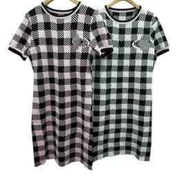 Fragrance s online shopping - 2019 New Summer Dresses M Temperament Slim Fragrance Style Knit Dress Skirt A Line Skirt Robes D été Casual Women Clothes Size S L