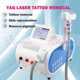 Free Tattoo Removal NZ - Eu tax free Top quality 1064nm 532nm Q Switched Nd Yag Laser Tattoo Removal Machine Age spots Freckle Pigment Removel beauty salon equipment