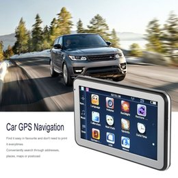 "$enCountryForm.capitalKeyWord Australia - 5"" 886 HD Car Truck GPS Navigation 256M+8GB Reversing Camera Touchscreen FM Navigator Accurately Position Black"