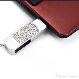 128 gb stick Australia - Hot sale!!New crystal Portable lock 16GB-128 GB USB flash memory stick flash disk drives U85