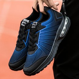 acc1dbfdbaf807 Spring Autumn Mens Mesh Sneakers Black Blue Man Air Running Shoes  Comfortable Sneakers China Lace Up Jogging Male
