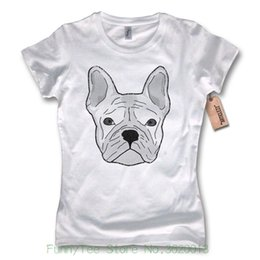 $enCountryForm.capitalKeyWord NZ - Women's Tee Ladies T-shirt - French Bulldog - French Bulldog Cotton White S M L Xl European Style Hip Hop S-xl