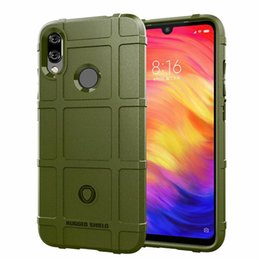 $enCountryForm.capitalKeyWord Australia - For Xiaomi Redmi Note 7 Pro Case Cover Soft Hybrid Armor Silicone Rubber Rugged Matte Finished Non-Fingerprint Shield Air Cushion
