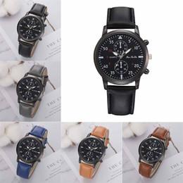 $enCountryForm.capitalKeyWord Australia - Fashion Men's Leather Alloy Analog Quartz Wrist Watch Business Watches wall clock modern design large female pagani design