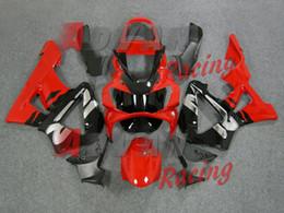 Cbr929rr Black Fairing Kit Australia - New ABS motor fairings kit for HONDA CBR 929RR 929 2000 2001 CBR929RR 00 01 CBR 900RR fairings set custom red black