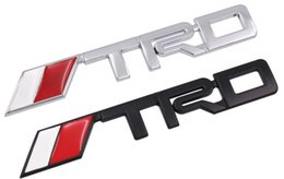 $enCountryForm.capitalKeyWord NZ - Car TRD Logo 3D Racing Metal Sticker Auto Emblem Badge Decal For Toyota CROWN REIZ COROLLA Camry VIOS Car Styling Accessories